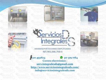 SERVICIOS INTEGRALES DS SAS