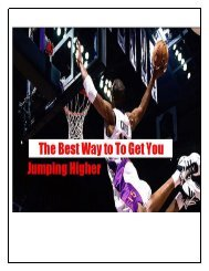 The best way To Get You Jumping Higher