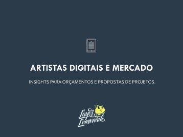 Ebook - Mercado e Artistas Digitais