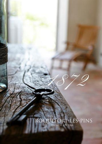 FRENCH RIVIERA - Roquefort-Les-Pins Ref 5864