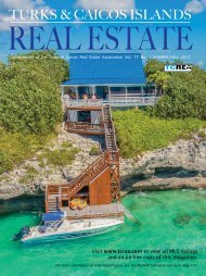 Turks & Caicos Islands Real Estate Summer/Fall 2017