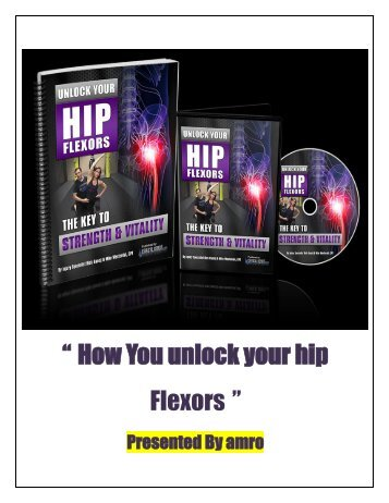 How You unlock your hip