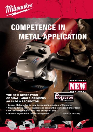 COMPETENCE IN METAL APPLICATION - Milwaukee-et