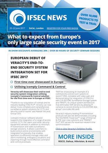 IFSEC News 2017