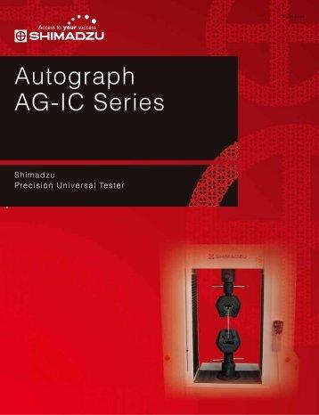 Autograph AG-IC Series