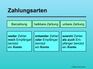 Zahlung - schule.at