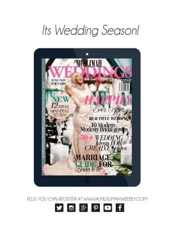 june weddings magazine