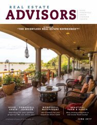 The Real Estate Advisors Magazine - June 2017