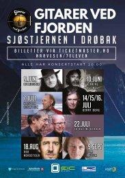 Gitarer ved fjorden 2017