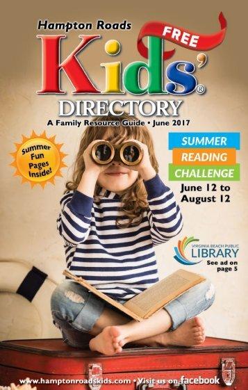 Hampton Roads Kids' Directory: June 2017