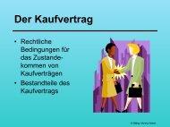 Der Kaufvertrag - schule.at