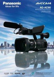 AG-AC90 - Broadcast and Professional AV Web Site - Panasonic