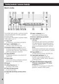 Sony CDX-GT33U - CDX-GT33U Mode d'emploi Serbe - Page 6