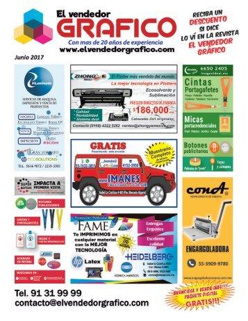 Revista El Vendedor Gráfico Junio 2017