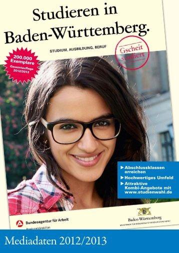 Mediadaten 2012/2013 - Wanner und Kindt