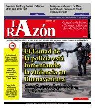 Diario La Razón jueves 1 de junio de 2017