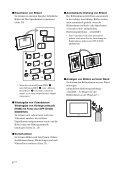 Sony DPF-D810 - DPF-D810 Consignes d'utilisation Allemand - Page 6