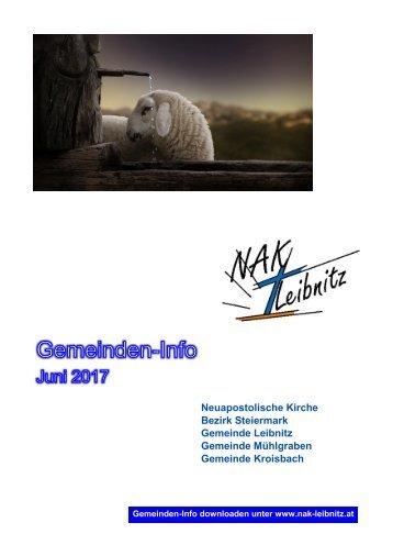 Gemeindeinfo Juni 2017