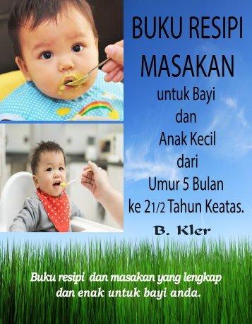 Buku Resipi Masakan Bayi (BM)