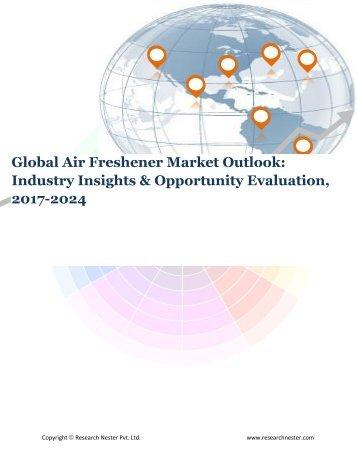 Global Air Freshener Market (2017-2024)- Research Nester