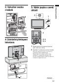 Sony KDL-46S2530 - KDL-46S2530 Istruzioni per l'uso Ceco - Page 5