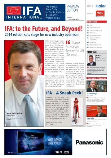 Preview Edition - IFA International