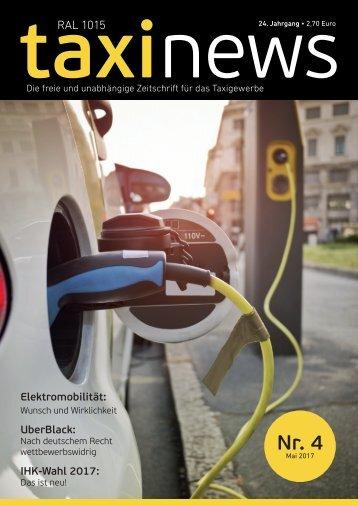 RAL 1015 taxi news Heft 4-2017