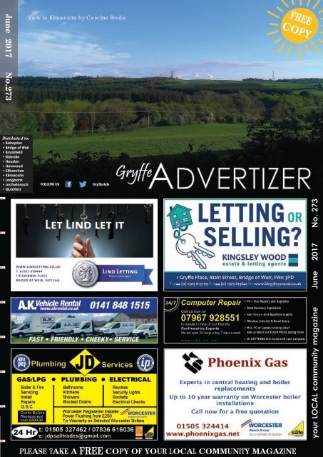 273 June 2017 - Gryffe Advertizer