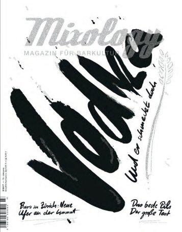 Mixology - Magazin für Barkultur 3-17