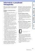 Sony MHS-TS20K - MHS-TS20K Istruzioni per l'uso Slovacco - Page 3