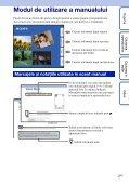 Sony MHS-TS20K - MHS-TS20K Istruzioni per l'uso Rumeno - Page 2
