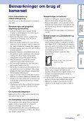 Sony MHS-TS20K - MHS-TS20K Istruzioni per l'uso Danese - Page 3