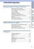 Sony MHS-TS20K - MHS-TS20K Istruzioni per l'uso Danese - Page 7