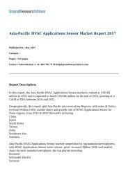 Asia-Pacific HVAC Applications Sensor Market Report 2017