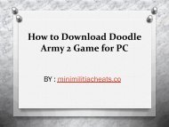 How to Download Doodle Army 2 Game for PC