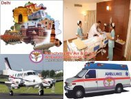 Lifesaving Air Ambulance Service in Delhi by Panchmukhi