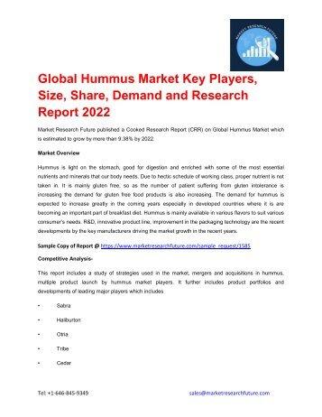 Global Hummus Market pdf