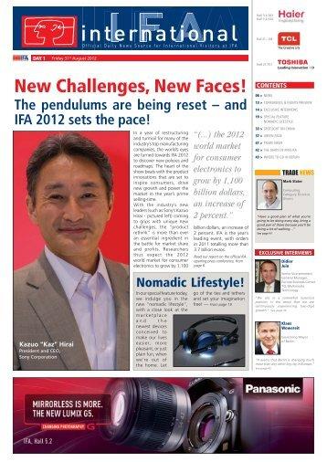 Day 1 - IFA International