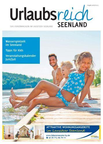 Urlaubsreich Seenland, Ausgabe Juni/Juli 2017