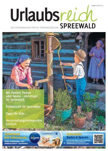 Urlaubsreich Spreewald, Ausgabe Juni/Juli 2017