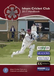 Isham CC 2017 Handbook - WEB VERSION