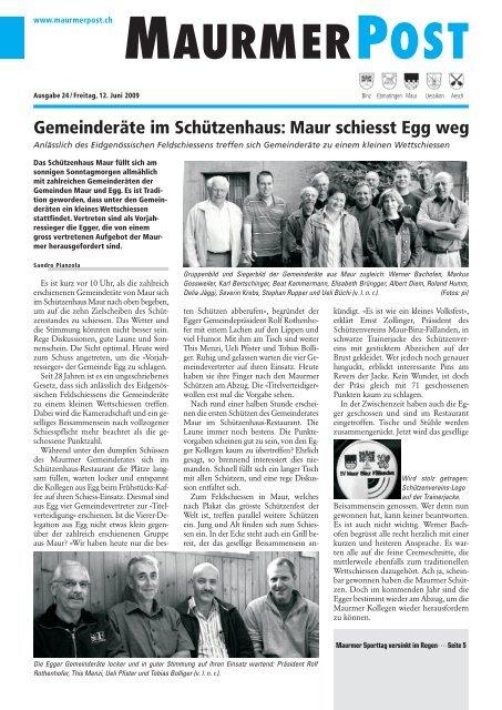 Das neue Schulhaus Goldbach ist erffnet - Lokalinfo AG