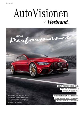 AutoVisionen - Das Herbrand Kundenmagazin Ausgabe 13