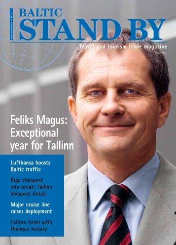 Feliks Magus: Exceptional year for Tallinn