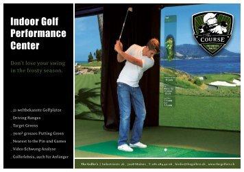 Indoor Golf Performance Center