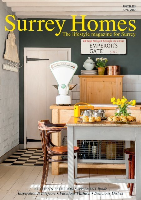 Surrey Homes   SH32     June 2017   Kitchen & Bathroom supplement inside