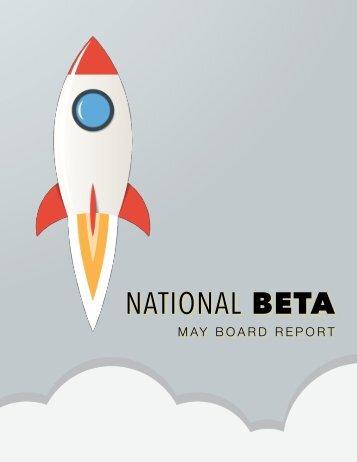 May Board Report
