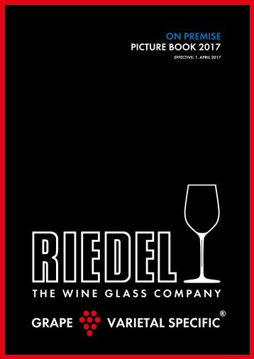 Riedel on Premise book 2017