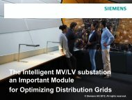 Intelligence for Ring Main Units - Siemens