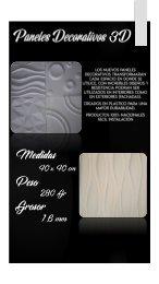 Broshure Paneles Decorativos 3D